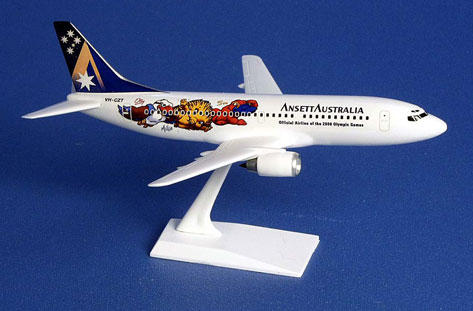 AIRCRAFT MODEL - (B737-300 Olympic Limited Edition)