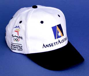OLYMPIC BASEBALL CAP - White / Navy