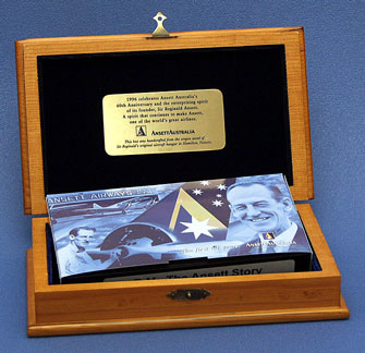 "VIDEO - ""R.M. The Ansett Story"" in wooden gift box"