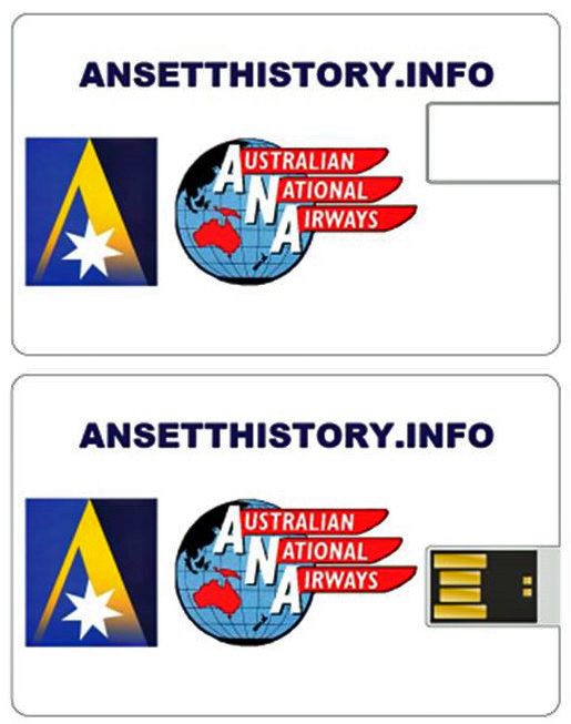 USB - AIRLINES & AIRCRAFT OF THE ANSETT GROUP 1921 - 2002