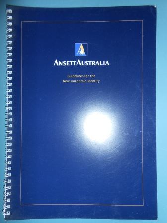 ANSETT AUSTRALIA - NEW CORPORATE IDENTITY GUIDELINES MANUAL