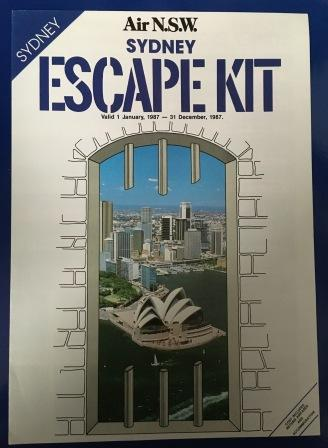 "Air N.S.W. ""SYDNEY ESCAPE KIT"" Holiday Brochure"