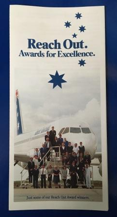 "Ansett Australia. ""Reach Out"" NOMINATION FORM"