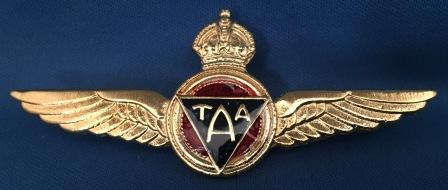 PILOT WINGS: TAA 'old Style'