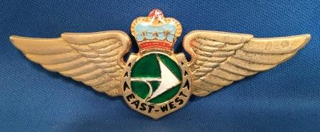 PILOT WINGS: East West Airlines'new'