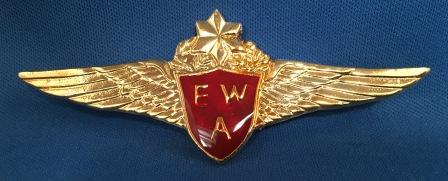 PILOT WINGS: East West Airlines 'old'