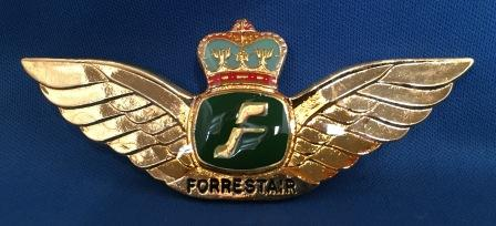 PILOT WINGS: Forrestair
