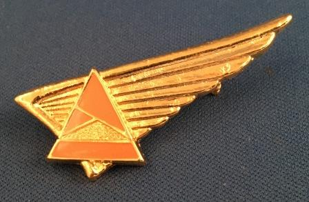 CABIN CREW WINGS: Ansett Airlines of Australia