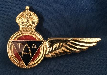 FLIGHT ENGINEER WINGS: T.A.A. - Old Style