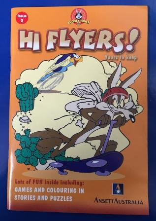"""HI FLYERS"" IN-FLIGHT KIDS PACK (Orange Issue)"