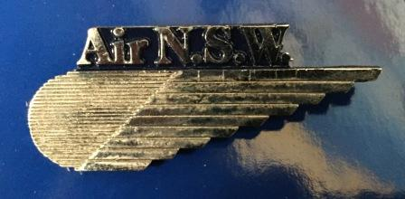 CABIN CREW WINGS: Air NSW (Silver)