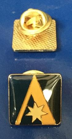 "LAPEL BADGE: ""Starmark"""
