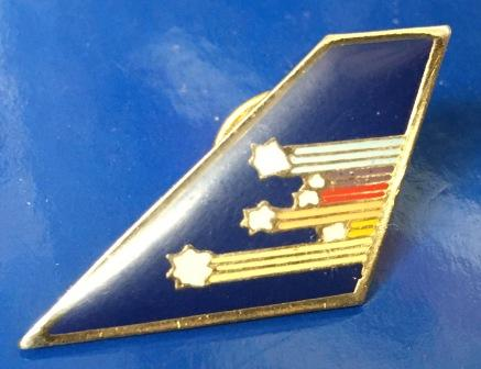 "LAPEL BADGE:""Tail - Stars & Stripes Livery"""