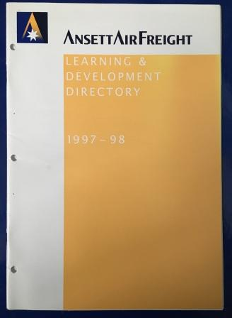 "AAF: ""Learning & Development Directory 1997-98"" - Click Image to Close"