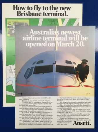 "BROCHURE: ""Australia's newest airline terminal - Brisbane"""