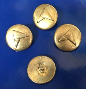 GOLD METAL ATI BUTTON