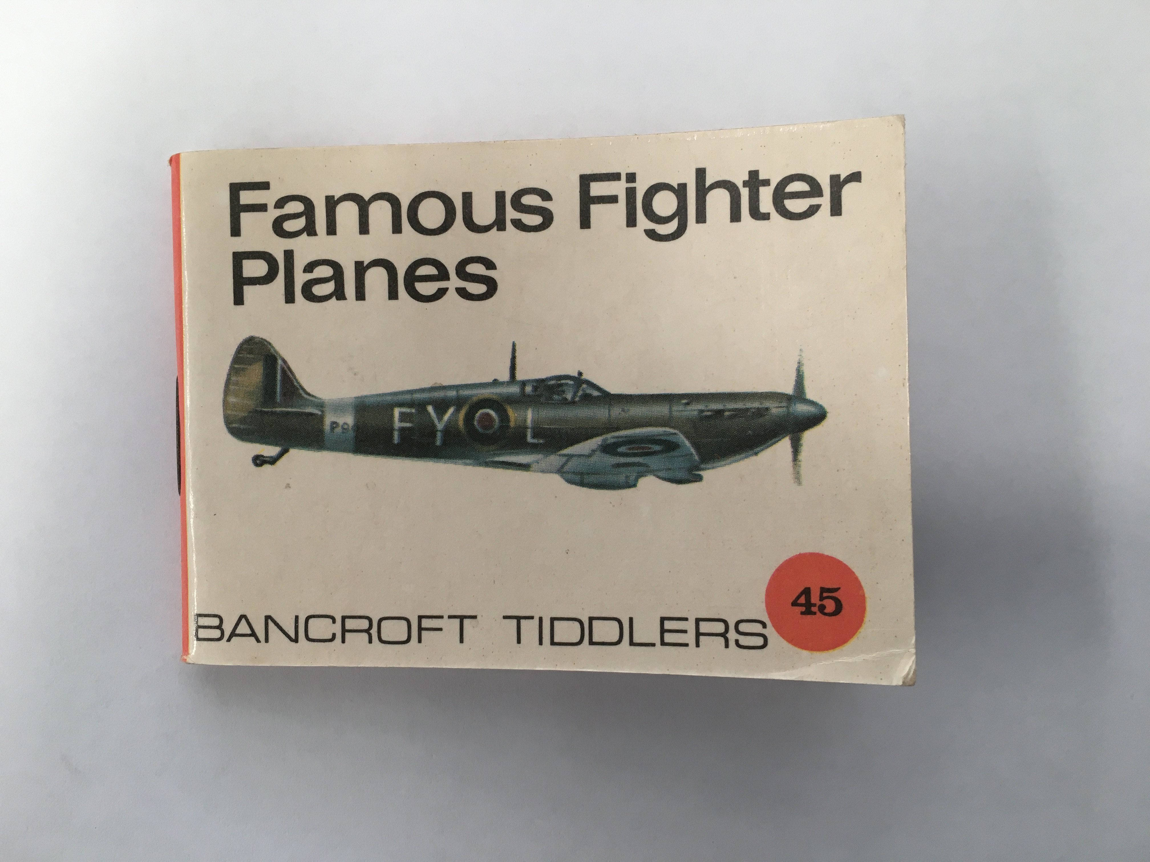 "BOOK: ""Famous Fighter Planes"""