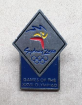 "SOCOG PIN: ""Sydney 2000 - Games of the XXVII Olympiad"""
