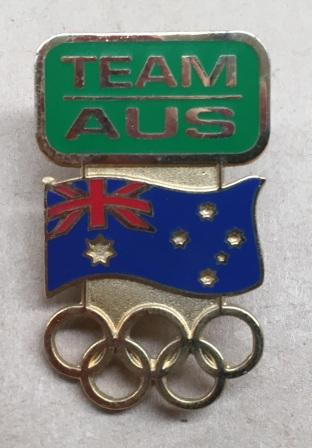 "COUNTRY PIN: ""Team Australia"""