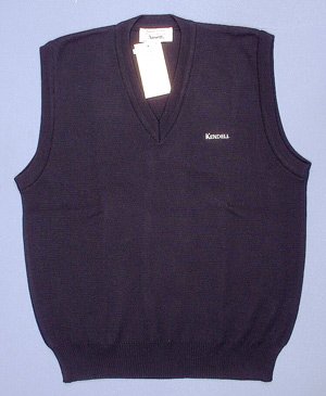 WOOL KNIT VEST - (Kendell Airlines)