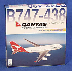 QANTAS - BOEING B747-438 DIE CAST MODEL