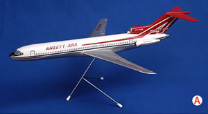 BOEING B727-200 (ANSETT- ANA LIVERY) SCALE 1:100