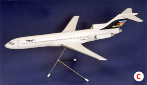 BOEING B727-200 (Stars & Stripes LIVERY) SCALE 1:100