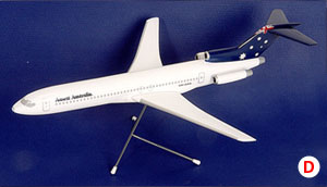 BOEING B727-200 (Australian Flag LIVERY) SCALE 1:100