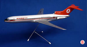 BOEING B727-200 (Delta LIVERY) SCALE 1:100