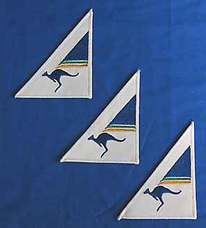 AUSTRALIAN AIRLINES - CLOTH BADGE