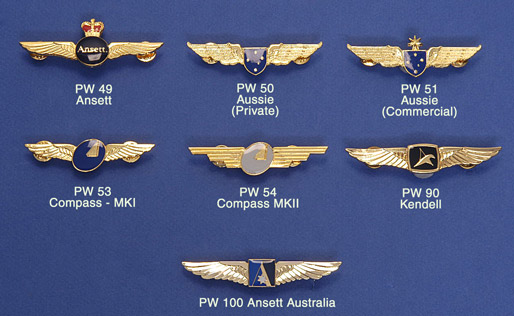 PILOT WINGS: Aussie 'Private'