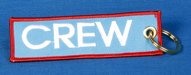 CREW BAGGAGE TAG