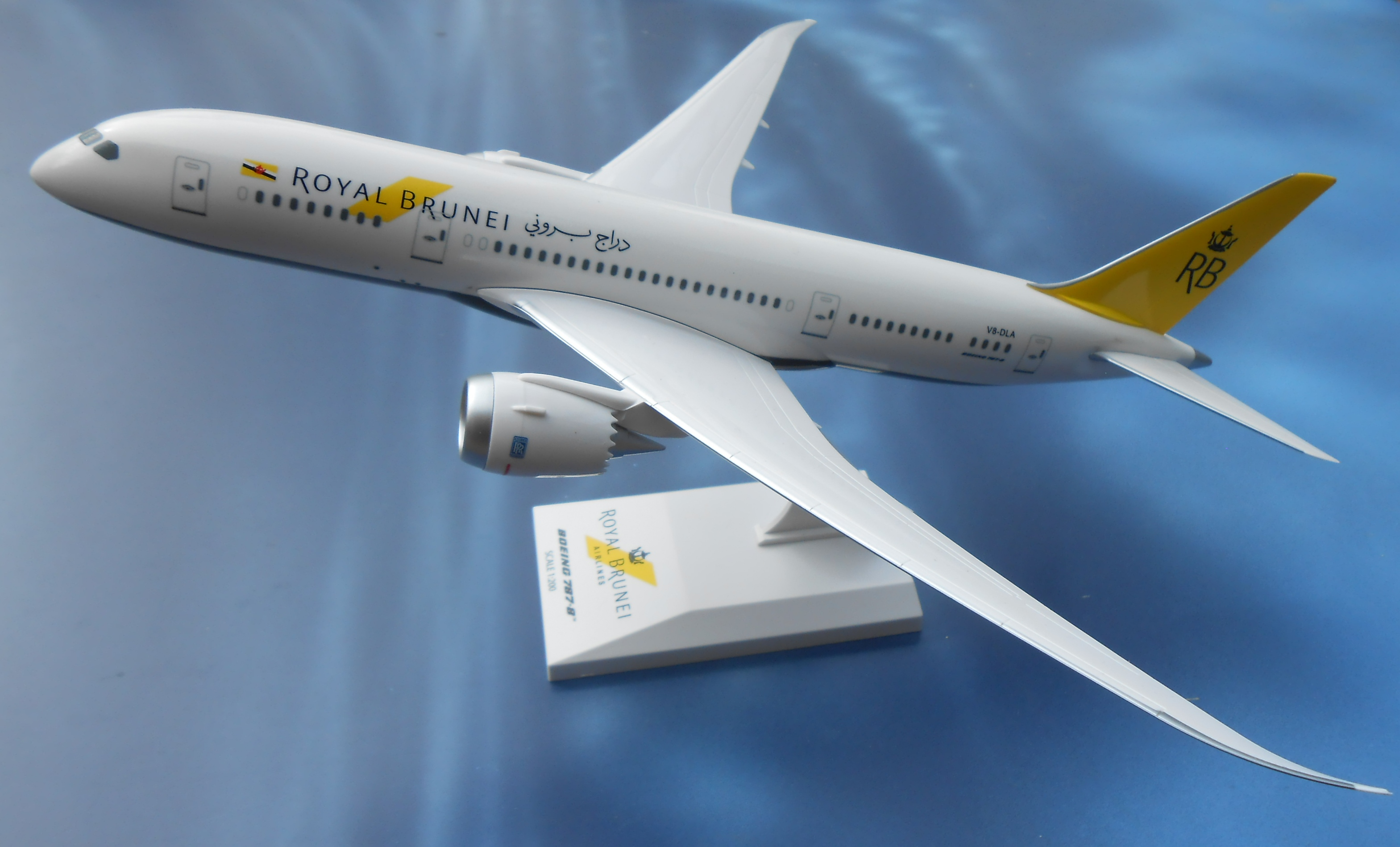 ROYAL BRUNEI AIRLINES BOEING 787-800