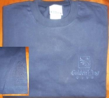 GOLDEN WING CLUB SYDNEY 2000 OLYMPIC GAMES NAVY T-SHIRT