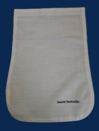 WHITE AIRCRAFT HEADREST (ANTIMACASSAR) COVER