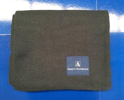 IN-FLIGHT AIRCRAFT WOOL BLANKET